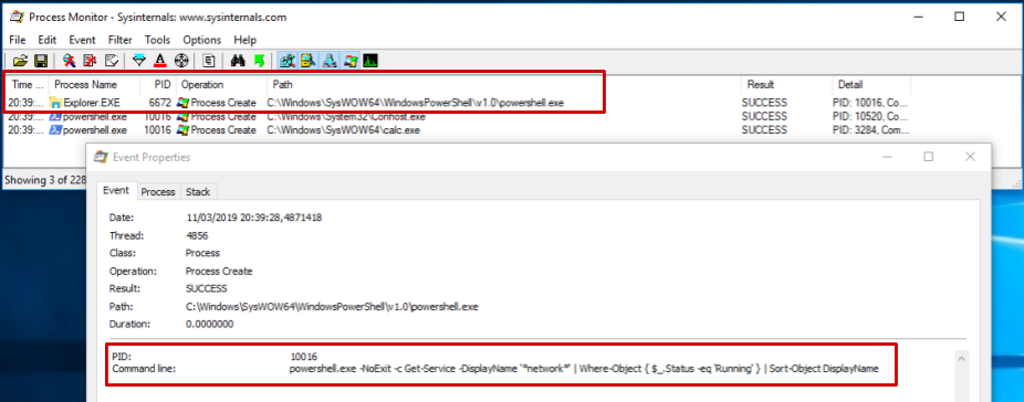 Building an Office macro to spoof parent processes and